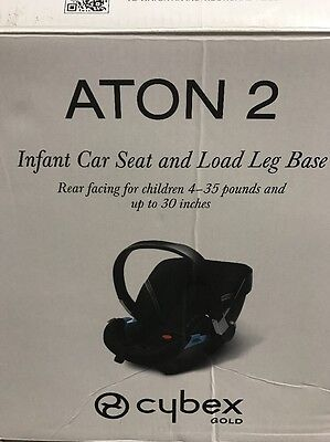 Brand NEW Cybex Gold Aton 2 Infant Car Seat No Cover