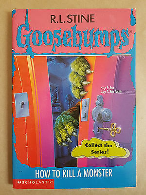 Goosebumps Books Lot of 10 By R.L. Stine