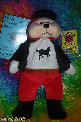 Beanie Kids 2003  Royal Adelaide Show Bear Filly T/p