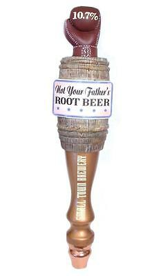 """Not Your Father/'s Root Beer Tap Handle Ship Boat on Keg NEW IN BOX 13.2/"""""""