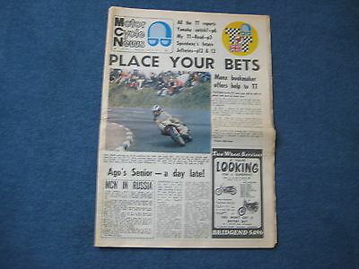 Motor Cycle News 16 June 1971 All the TT reports