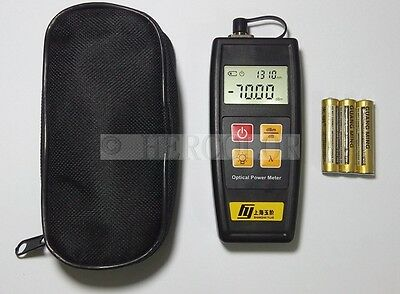Self Calibration USB Powered Miniature Optical Power Meter Tester FC SC ST