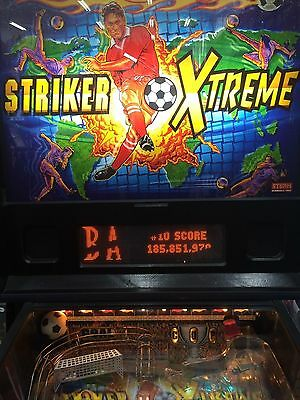 Striker Xtreme Soccer   Pinball  Good Condition