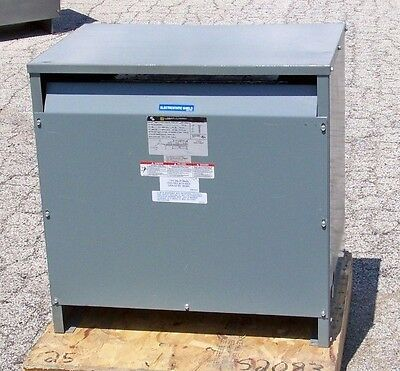 45 KVA 480 delta to 208Y120 transformer with taps Square D 45T3HFISNL