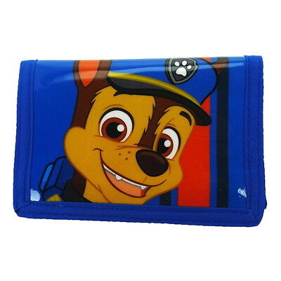 NEW OFFICIAL Paw Patrol Chase Boys Kids Coin Pocket Money Wallet