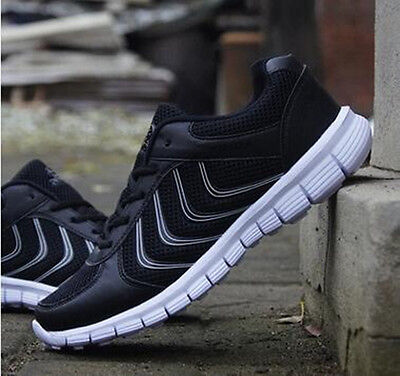 New Fashion Men's Breathable Sports Casual Athletic Sneakers Shoes Running Shoes