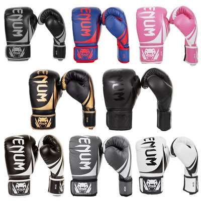 Venum Challenger 2.0 Boxing Gloves Black or Neon Muay Thai MMA Kickboxing