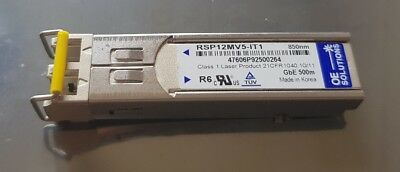 GbE GE GigaBit EtherNet 1000BASE-SX SFP LC SW 850nm OE Solutions RSP12MV5-IT1