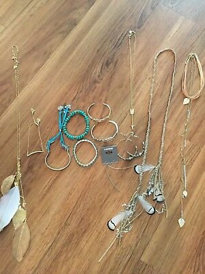 Lot of 12 Express jewelry items EUC!!!