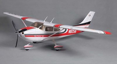 Sky Trainer 182 Wingspan: 55.5 in 1410mm Ready To Fly, Red Brushless RC Airplane