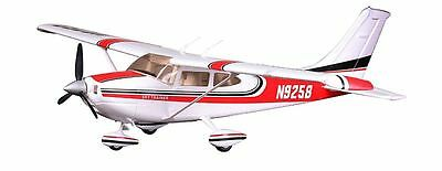 Cessna 182, Red, V2, Ready To Fly,Wingspan: 39.7 in 1010mm Brushless RC Airplane
