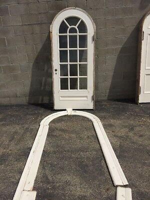 Pg 2 Antique Arch Top Passage Door Entry Door 82.75 X 36.5