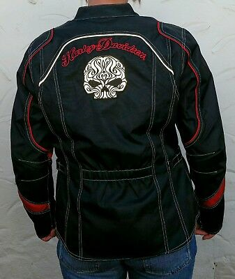 fxrg harley davidson motorradjacke l leder top. Black Bedroom Furniture Sets. Home Design Ideas