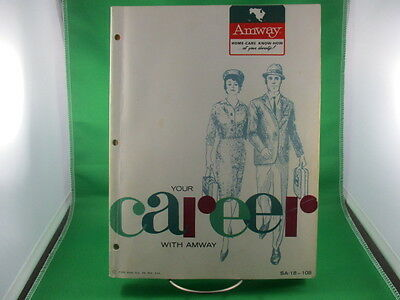 Amway Your Career With Amway Catalogue 1965