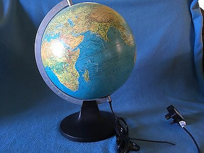 Vintage Globe Scanglobe light