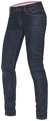 NEW Dainese Belleville Dark Blue Slim Jeans Women's SIZE 25