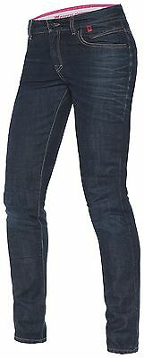 NEW Dainese Belleville Dark Blue Slim Jeans Women's SIZE 29