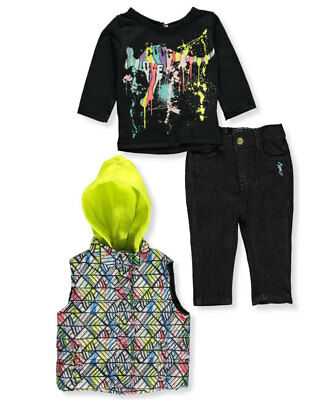 Coogi Baby Girls' 3-Piece Outfit