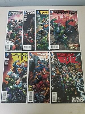 Forever Evil 1-7 Complete, Justice League, The New 52