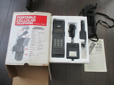 Vintage Protable Cellular Telephone Model P832T