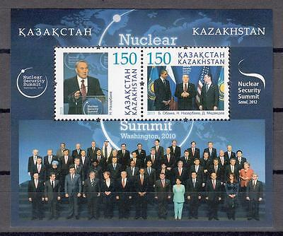 Kazakhstan Kasachstan 2013 MNH** Mi. 818-819 Bl.52 Day against Nuclear Power