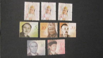 Kazakhstan Kasachstan 2012 MNH** Mi. 755-762 Definitiv 100th Birthday Aniversary