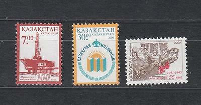 Kazakhstan Kasachstan 2000 MNH** Mi. 281,283,284 Lot single stamps