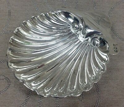 Victorian Sterling Silver Scallop Shell - London 1895