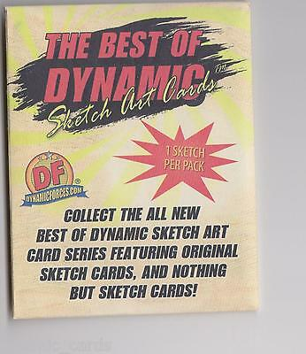 The Best Of Dynamic Forces Sketch Art Cards Sealed Pack