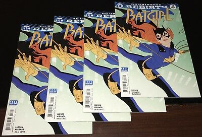 2017 BATGIRL #13 MIDDLETON B Variant cover Rebirth VF+ NM- Near Mint-