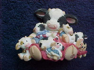Mary's Moo Moos Friends Are the Best Cowlectibles #319368 cow figurine 1997 #2