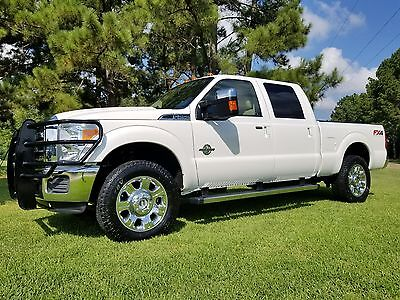 2012 Ford F-250 Lariat 2012 FORD F250 DIESEL 4X4 PEARL WHITE LARIAT ANDY 1-936-414-2295