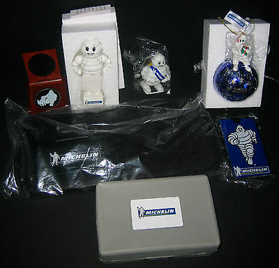 Set of 10 various Michelin Collectibles