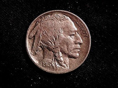 RARE 1913 P TYPE 1 INDIAN Buffalo Nickel XF-AU BUY IT NOW OR OFFER