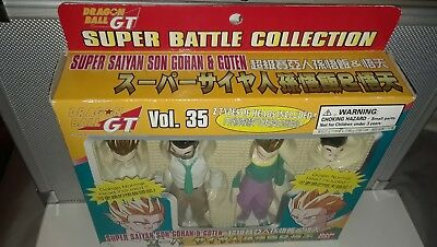 Dragonball GT Z Super Battle Collection - SS Son Gohan & Goten V. 35 Bandai RARE
