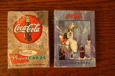 2 decks of Coca-Cola Playing Cards...