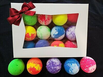 100 Fizzy Bath Bombs 1.7oz Lot size range from 12 -100 ASSORTED SUMMER SALE!