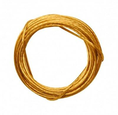 Picture Wire No.2x3.5M Brass Pack Of 1