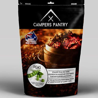 Campers Pantry Peas Freeze-dried Food