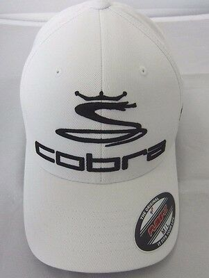 New Cobra Pro Tour Flexfit Cap White
