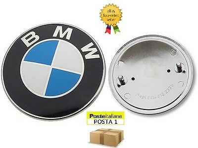 Stemma Bmw Cofano 82 Mm Logo Emblema Fregio Badge 3M 82Mm Portellone