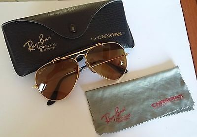 Vintage Ray Ban Aviator Sunglasses Chromax Driving Series