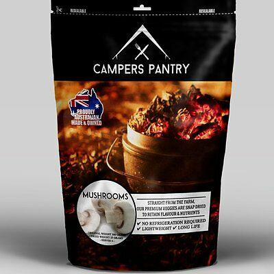 Campers Pantry Mushrooms Freeze-dried Food