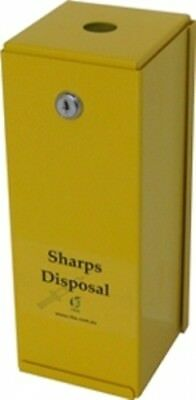 Stainless Steel - Rba 7400 Series Sharps Disposal Box in Satin - First Aid