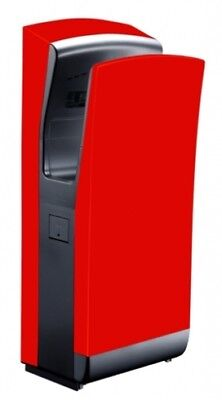 Bradley Airstream 220-702-R Wall Mounted Hand Dryer In Red
