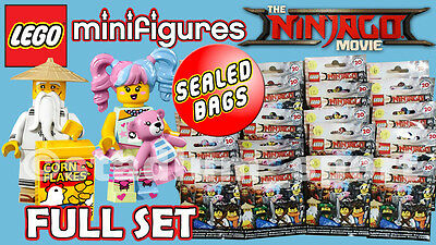 LEGO Minifigures: The Ninjago Movie [71019] COMPLETE FULL SET - SEALED BAGS