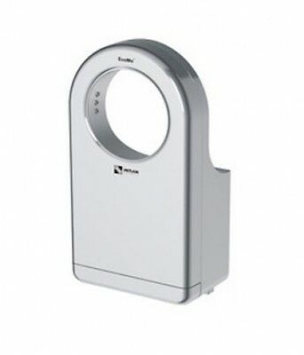 Metlam Ecomo-Round Automatic Hand Dryer in Silver - Hand Dryers