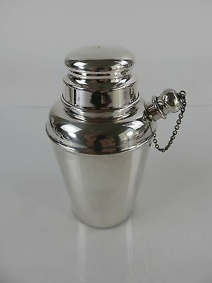 Reed & Barton Art Deco Diminutive Sterling Silver Cocktail Shaker, c1920s