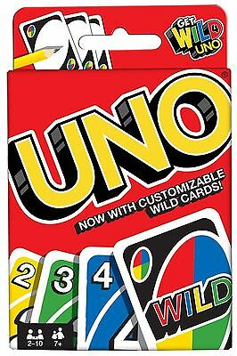 UNO Card Game Latest Version With Wild Cards Family Fun UK Seller Free P&P