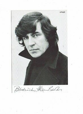 Alan Bates Theatre and Film Actor Hand Signed Vintage Photograph 6 x 4